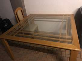 Table 8 seater with 8 chairs,