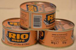 Тунец RIO MARE в оливковом масле, натуральный 80гр