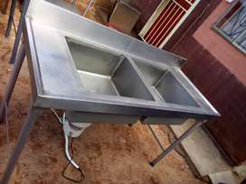 double basin sink available