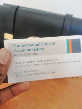 Student Accommodation in Summerstrand PE