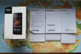 Oryginalne pudełko Sony Xperia M Dual C2005; Okazja; Najtaniej