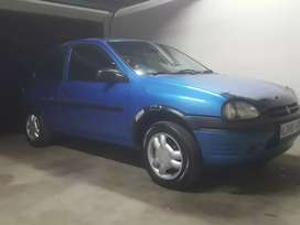 Corsa lite,blue,1999 model,187000km