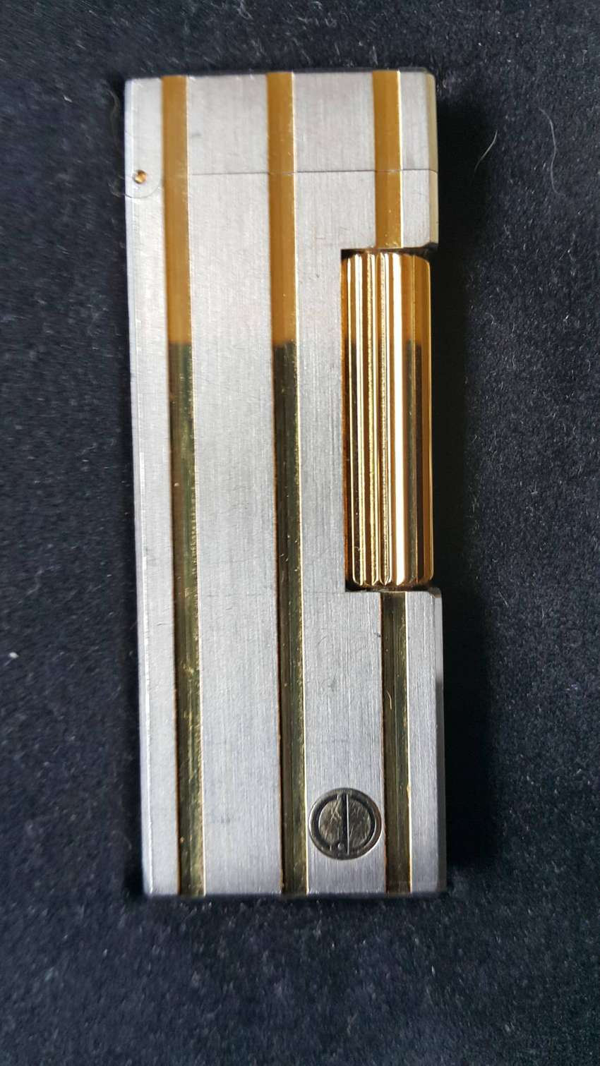 Dunhill Rollagas lighter (Silver & Gold) 0