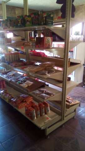 Shelving and counter for sale