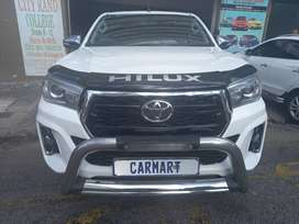 2018 TOYOTA HILUX D/C 4X4 2.8 GD6 WITH 97000KM