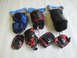Набор защитной экипировки наколенники, налокотники (200 руб)