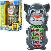Котофон (укр./рус.язык),говорящий кот том,детский телефон,телефончик