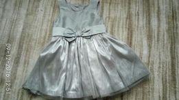 Sukienka tiulowa, dziewczynka, rozm 92, H&M