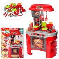 """Детская кухня """"Kitchen"""" 008-908 Высота 69 см -35 предметов + тостер"""