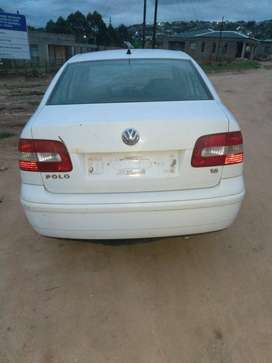 Selling VW polo classic.running but  paper not inorder.
