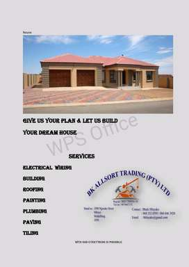 We build and renovate