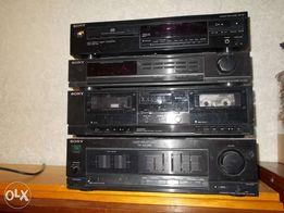Sony CDP-297 made in japan , усилитель, тюнер, CD в отличном состоянии