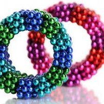НЕОКУБ,NeoCube (круче spinner) радуга-6цветов,216 неодимовых магнитов