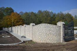 Ogrodzenia z kamienia Mury z kamienia Kamień Naturalny Kamieniarstwo