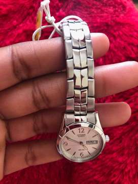 Authentic Citizen Classic Stainless Steel Ladies Watch