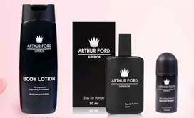 Arthur Ford perfumes,roll ons body wash and body lotions