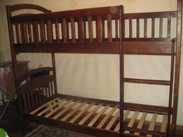 Двухъярусная кровать Карина с дерева , выгодное предложение +подарок))