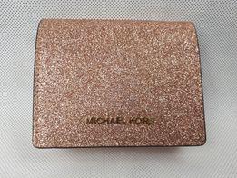 Nowa portmonetka MICHAEL KORS rose gold złota rózowa portfel oryginal