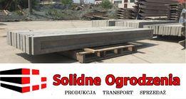 PROMOCJA Producent Podmurówka betonowa pod panel ogrodzeniowy zbrojona