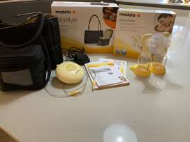 Medela Swing Maxi Double Electric 2-phase Breast Pump & Citystyle Bag