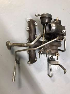 VW GOLF MK6 1.4 TSI TURBO CHARGER WITH EXHAUST MANIFOLD