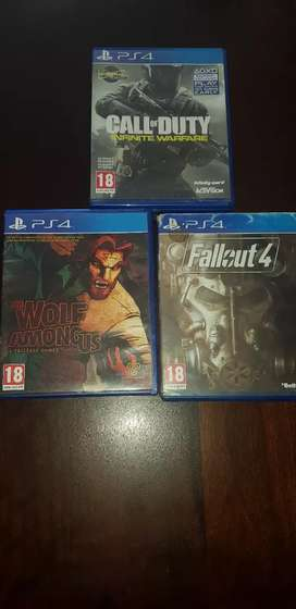 Ps4 games (only trading for what you got)