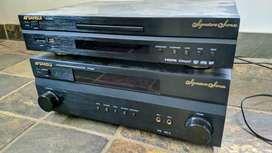 400W 5.2-ch Sansui HT-6000 amp with matching HDMI DVD Player.