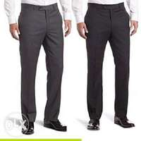 2n1 Men's Executive suit trousers- black and grey 0