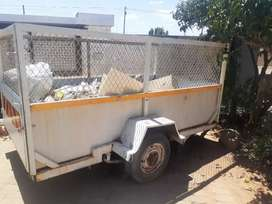 Trailer for sale and isuzu canopy