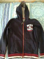 Тёплая кофта с капюшоном (толстовка, куртка). Рост 152 см.