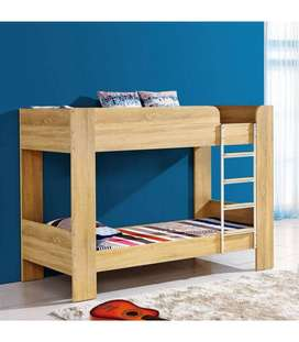 Kids bunk bed with drawer