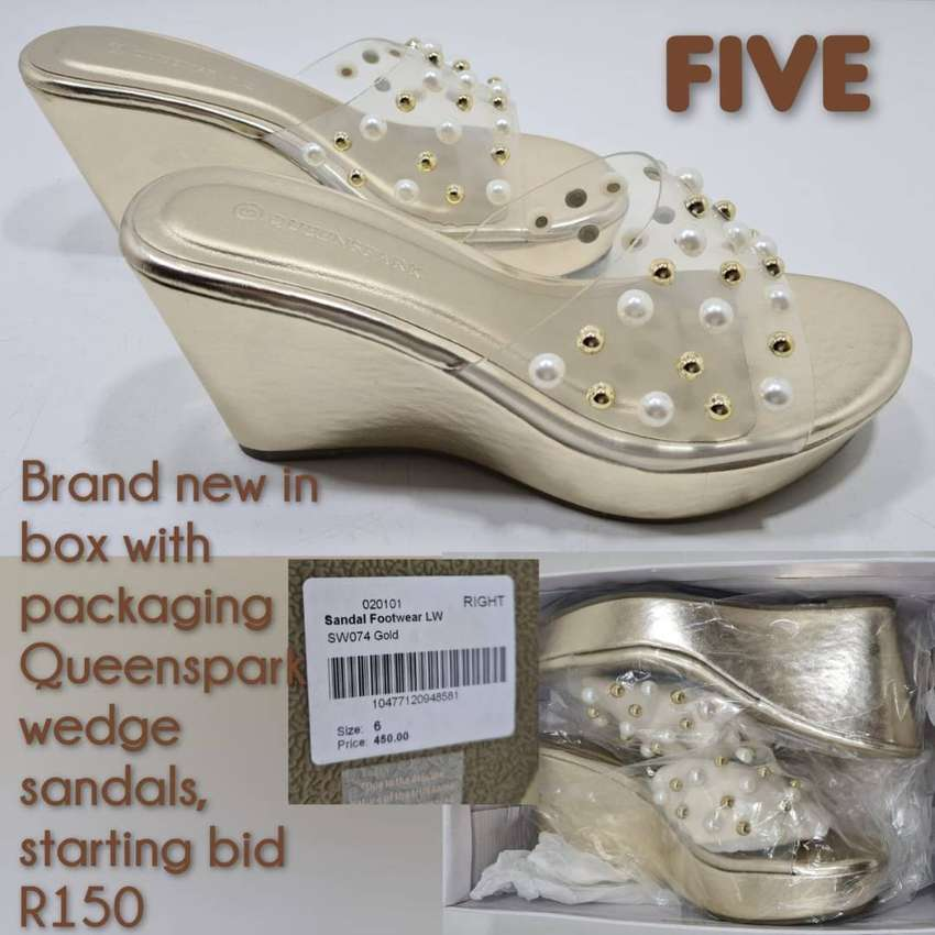 Wedge sandals new
