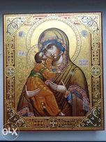 Икона Владимирская Палех
