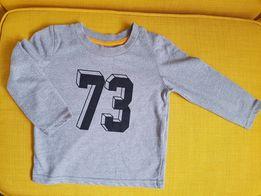 Mini Rebel bluzeczka długi rękaw 9-12 m. 80 cm