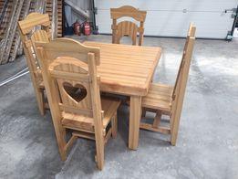 Комплект стол и четыре стула