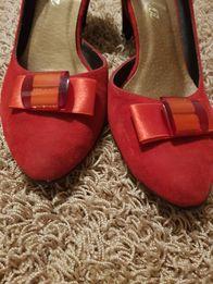 Czolenka ,szpilki,buty czerwone