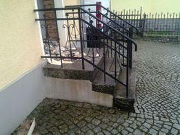 Schody 200-letnie. z balustradą. 100% Granit. Komplet.