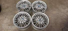 17 Inch OEM BMW 2 Series Narrow and wide rims
