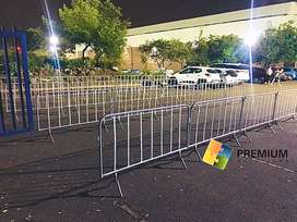 Temporary Barricade Fencing & Crowd Control Barriers for Hire
