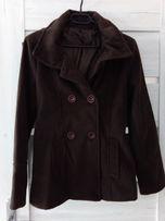 Płaszcz, kurtka krótka brązowa r. 38