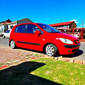 Hyundai getz 2009 model 1.6 Red