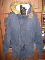 Мужская фирменная куртка-парка ADIDAS
