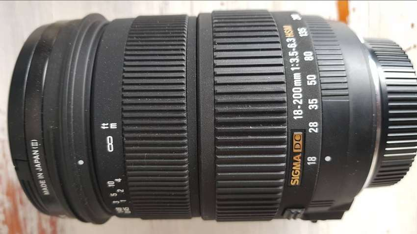 Sigma 18-200mm f/3.5-6.3 DC Macro OS HSM Lens For Nikon 0
