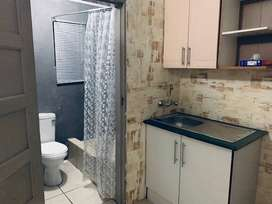 Cosmo city ext 10 Outside Bachelor room with own shower & Toilet, sink