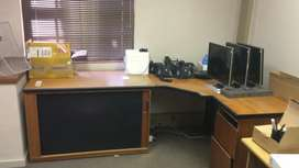 Office desks for sale - R750 each or R2000 for the lot