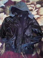 Курточка кожзам демисезонная