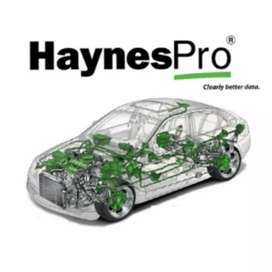 Latest autodata software from Haynes Pro