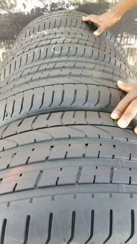 Two tyres size 245/40/20 pierlli run flat no available