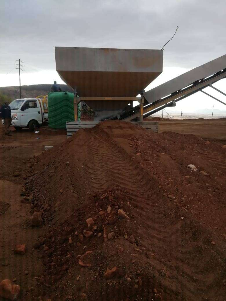 Batching plant for hire