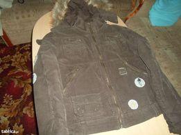 kurtka damska zimowa sztruksowa